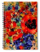 Floral Happiness Spiral Notebook