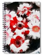 Floral Hotty Totty Spiral Notebook