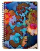 Floral Hotty Totty Differs Spiral Notebook