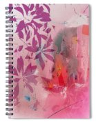Floral Illusion Spiral Notebook