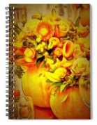 Floral In Ambiance Spiral Notebook