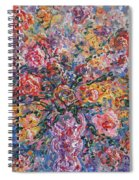 Floral Melody Spiral Notebook