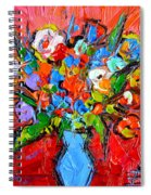 Floral Miniature - Abstract 0115 Spiral Notebook