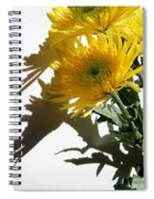 Floral No4 Spiral Notebook