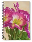 Floral Oil Painting Spiral Notebook