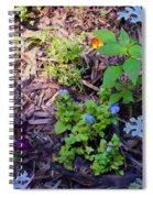 Floral Print 003 Spiral Notebook