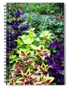 Floral Print 005 Spiral Notebook