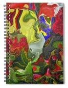 Floral Reef Spiral Notebook