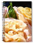 Floral Roses Garden Art Prints Baslee Troutman Spiral Notebook