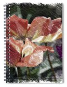 Floral Spring Tulips 2017 Pa 02 Spiral Notebook
