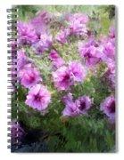 Floral Study 053010 Spiral Notebook