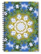 Floral Sun Spiral Notebook
