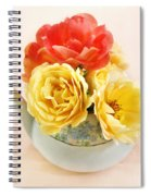 Floral Tea Spiral Notebook