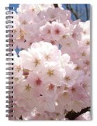 Floral Tree Blossoms Flowers Pink Art Baslee Troutman Spiral Notebook
