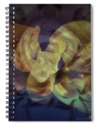 Floral Vortex Spiral Notebook