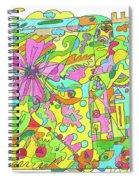 Floral World Spiral Notebook