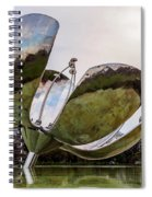 Floralis Generica, Buenos Aires, Argentina Spiral Notebook