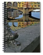 Florence The Old Bridge Spiral Notebook