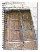 Florentine Door 4 Spiral Notebook