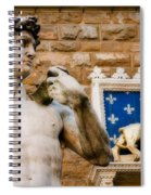 Florentine Icons Spiral Notebook