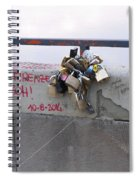 Florentine Love Locks Spiral Notebook