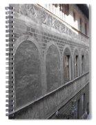 Florentine Stone Graffiti 2 Spiral Notebook