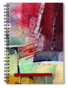 Florid Dream - Red Spiral Notebook