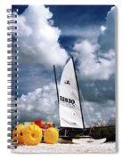 Florida Beach 3 Spiral Notebook