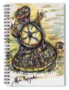 Florida Box Turtle Spiral Notebook