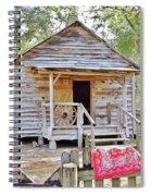 Florida Cracker Church And School House Spiral Notebook