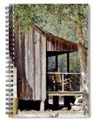 Florida Cracker Homestead Spiral Notebook