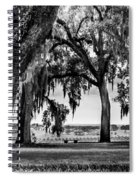 Florida Interior From Bok Gardens Spiral Notebook