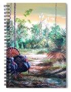 Florida Osceola Turkeys- The Two Kings Spiral Notebook