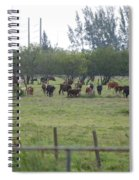 Florida Ranch Spiral Notebook