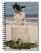 Florida Snow Man Spiral Notebook