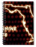 Florida - The Sunshine State Spiral Notebook