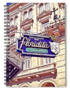 Floridita - Havana Cuba Spiral Notebook