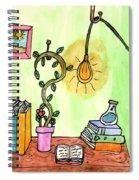 Florist Office Spiral Notebook