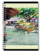 Floting Market Spiral Notebook