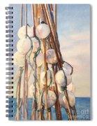 Flotteurs Spiral Notebook