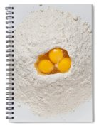 Flour And Eggs Spiral Notebook