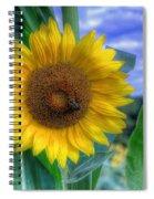 Flower # 37 Spiral Notebook