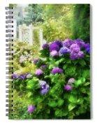 Flower - Hydrangea - Lovely Hydrangea  Spiral Notebook