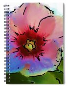 Flower 8-15-09 Spiral Notebook