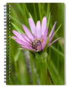 Flower And Friend Spiral Notebook
