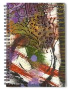 Flower And Leaves II Spiral Notebook