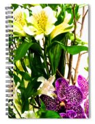Flower Arrangement 1 Spiral Notebook
