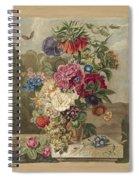 Flower Arrangement, Anthonie Van Den Bos, 1778 - 1838 B Spiral Notebook