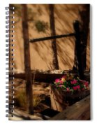 Flower Basket Spiral Notebook