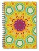 Flower Blooming Spiral Notebook